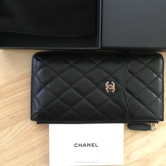 346a51da8f74 CHANEL Bags | Bnwts 2018 Authentic Flat Wallet Pouch | Poshmark